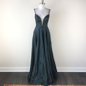 La Femme S 6 Emerald Green Formal Evening Prom